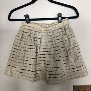 Opening Ceremony Cutout Suede Miniskirt XS NWT